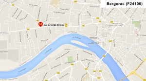 nouvelle adresse tf2i - 58 av Aristide Briand à Bergerac